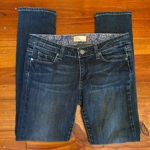 PAIGE 'Skyline Ankle Peg' Skinny Jeans Sz 27 EUC